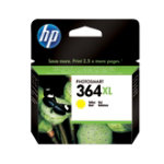 Original HP 364XL Yellow Ink Cartridge CB325EE