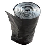 Paclan Waste Sacks Medium Weight Black 457 x 737 mm