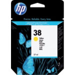 HP 38 Original Yellow Ink Cartridge C9417A