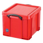 Really Useful Box Multi Usage Box Red 35Ltrs