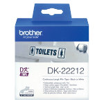 Brother Label Tape DK22212 62 x 152 White