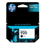 HP 920 Original Ink Cartridge CD971AE Black
