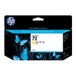 Original HP No72 yellow printer ink cartridge C9373A
