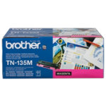 Brother TN 135M high capacity magenta toner cartridge
