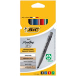Bic Permanent Pocket Marker Assorted Pack of 4