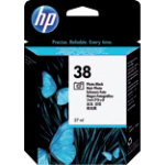 HP 38 Original Black Ink cartridge C9413A