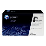 HP No49X Hi Yield Black Toner Cartridge Twin Pack Q5949XD