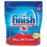 Finish Dishwasher Tablets All in One Max lemon 53 pieces