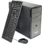 Zoostorm 7877 0420 desktop tower PC with Intel Celeron G1610 260GHz CPU 320GB hard drive 2GB RAM SFF case and Windows 8 Home Premium