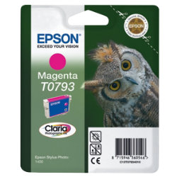 Epson T0793 Magenta Printer Ink Cartridge