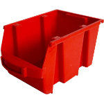 Viso Storage Bin SPACY3R Red