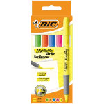 BIC Highlighter Brite liner grip Assorted 5