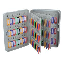 Office Depot 144 Hook Key Cabinet Grey