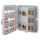 Office Depot 80 Hook Key Cabinet Grey