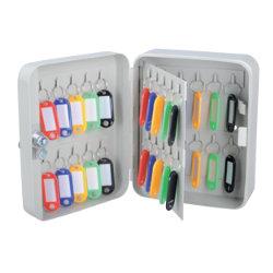 Office Depot 40 Hook Key Cabinet Grey
