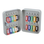 Office Depot 20 Hook Key Cabinet Grey