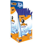Bic Cristal Soft Ballpoint Blue Box of 50