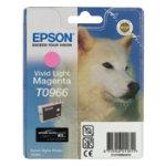 Epson T0966 Original Ink Cartridge C13T09664010 Vivid Light Magenta