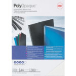 GBC A4 Polyclear Binding Covers White 300 Microns 100 Per Pack