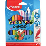 Maped Color Peps Jungle Colouring Pens Pack 12