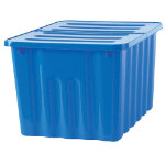 Niceday Storage Box 28 L Blue Polypropylene 260 x 340 x 445 mm