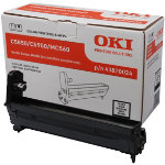 Oki 43870024 Black Toner Drum