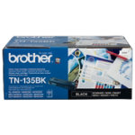 Brother TN135BK Black Toner Cartridge