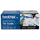 Brother TN135BK Original Black Toner Cartridge