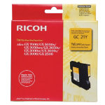 Ricoh Original standard capacity yellow gel ink cartridge 405535