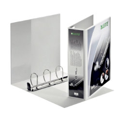 Leitz Softclick Presentation 4 Ring Binder White A4 60mm