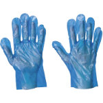 Supertouch Disposable Gloves Polyethylene Size L Blue Pack 100