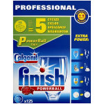 Finish Dishwasher Tablets Powerball non scented 125 pieces