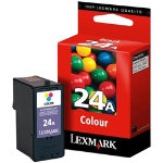 Lexmark 24A Original standard capacity tricolour ink cartridge N A