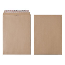New Guardian Peel And Seal Envelopes 125gsm Manilla C4 324 x 229 mm 250 Per Box
