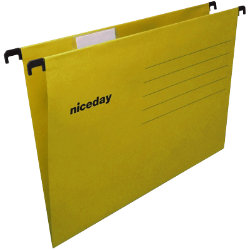 Niceday Flex Suspension File A4 Yellow Box 25