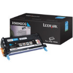 Lexmark Original Cyan Toner Cartridge X560H2CG