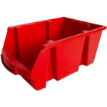 Viso Storage Bin SPACY4R Red