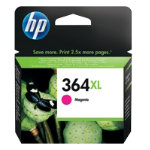 Original HP No364XL magenta printer ink cartridge CB324EE