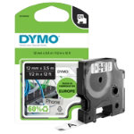 DYMO Label Tape 16957 12 mm x 35 m x 20 mm White Black