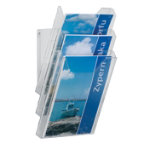 Durable Leaflet Dispensers 858019 A4 extra wide Transparent 291 x 242 x 217 cm