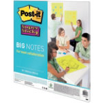 Post it Big Notes Super Sticky Neon Green 558 x 558 cm