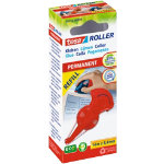 tesa Permanent Glue Roller Red