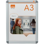 Nobo Notice Board A3 339 x 463 mm Silver
