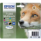 Epson T1285 Original Ink Cartridge C13T12854012 Black 3 Colours Multipack