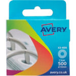 Avery Reinforcement Rings Clear Box Of 500