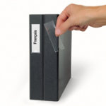 3L Label Holders 10305 Transparent