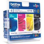 Brother LC1100VALBP Original black and colour ink cartridge multipack