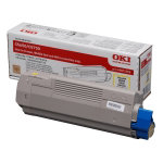 Oki 43872305 Yellow Laser Toner Cartridge