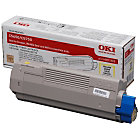 OKI 43872305 Original Yellow Toner Cartridge