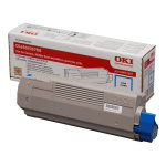 OKI 43381906 Original Toner Cartridge Cyan
